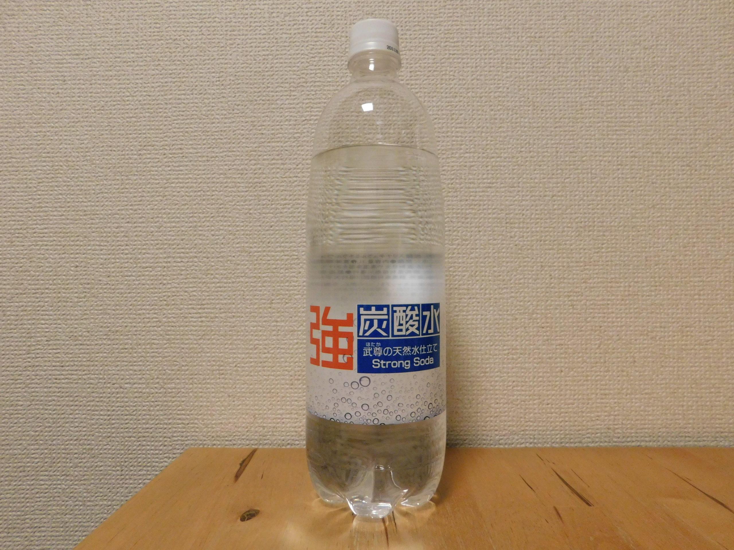 川場村産のミネラルウォーター+炭酸