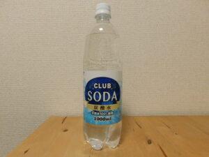 採水地不明 天然水使用 炭酸水 クラブソーダ