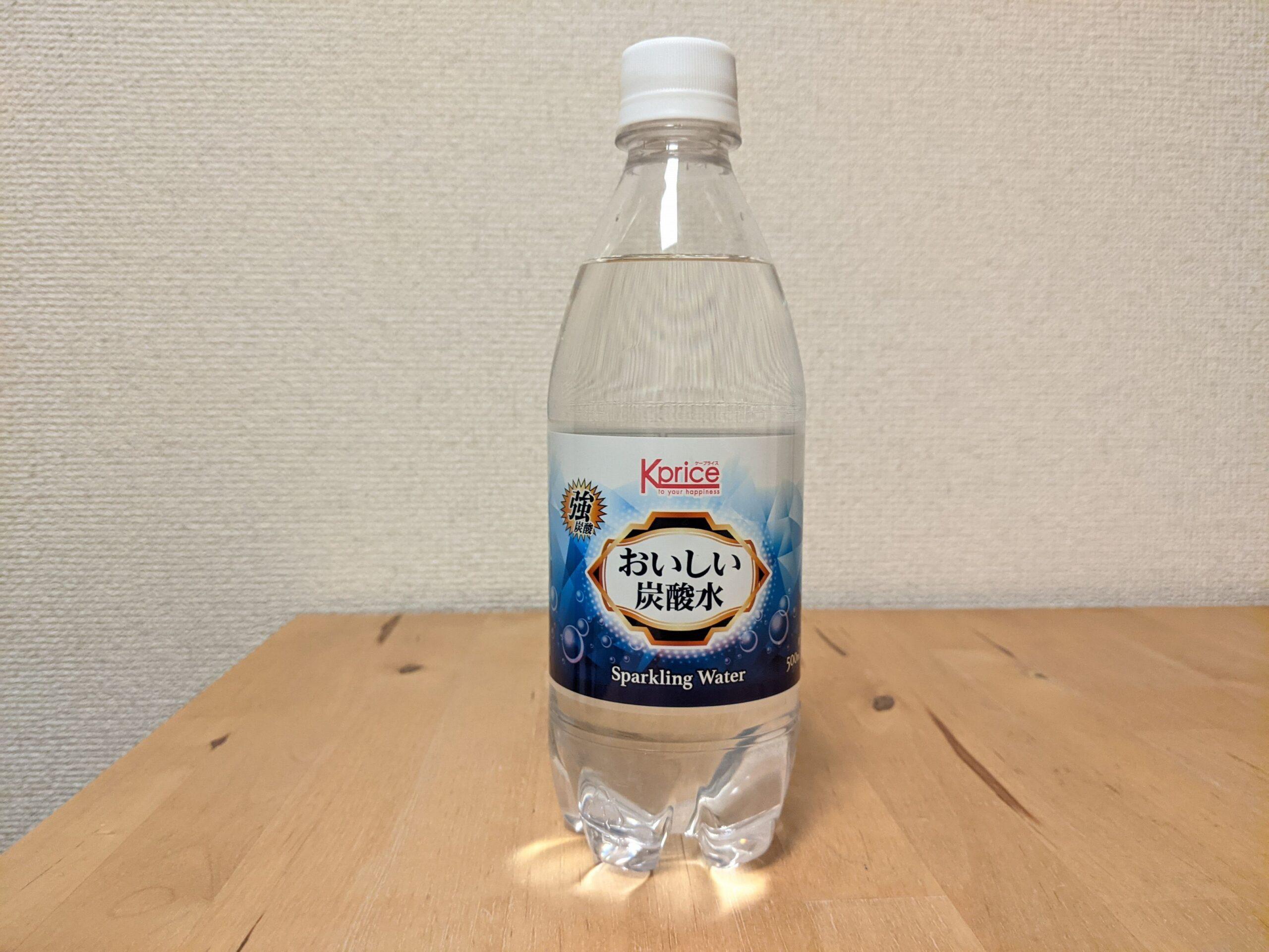 カクヤス 強炭酸水 Sparklingwater